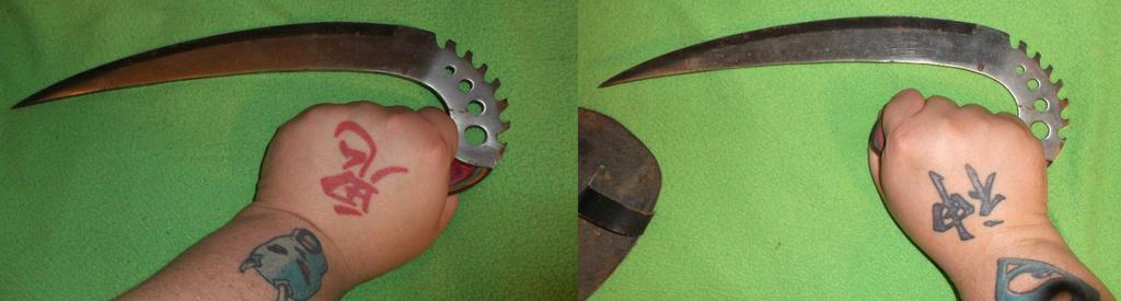 Curved Knife/Dagger by UnicronHound