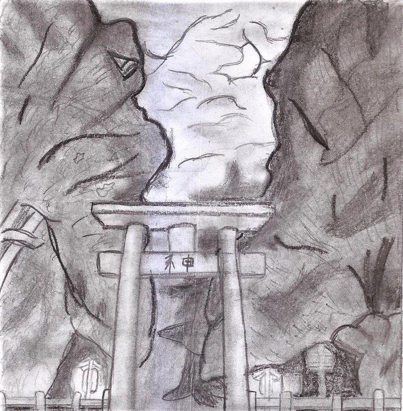 Temple Gateway by UnicronHound
