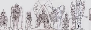 MMPR Monsters/Villians