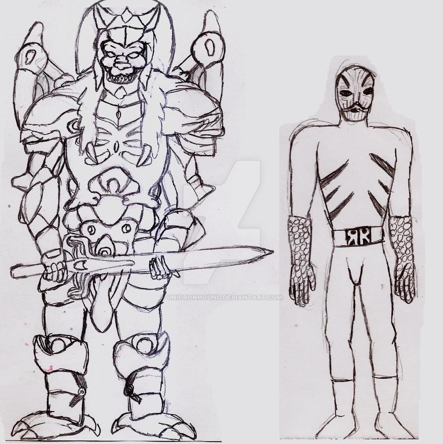 MMPR Villains 2 by UnicronHound