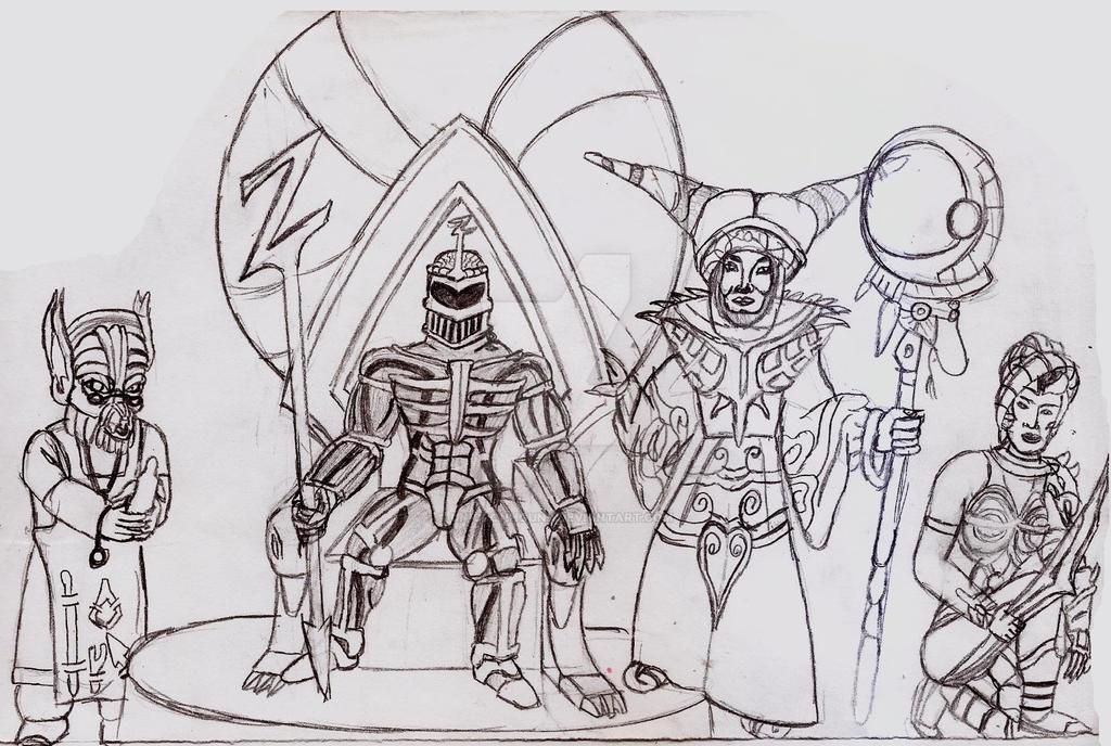 MMPR Villains 3 by UnicronHound