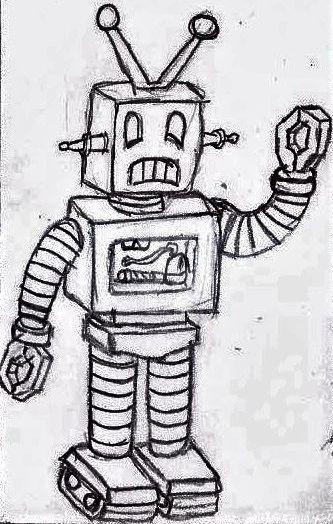 Anime 60s Robot by UnicronHound