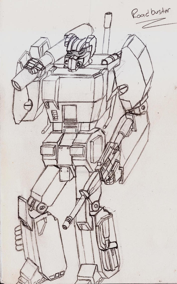 Masterpiece/Ultimate Roadbuster by UnicronHound