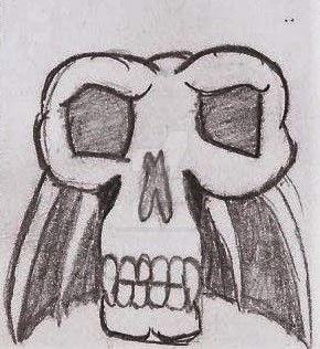 Skull Bat by UnicronHound