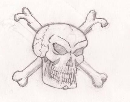 Skull and bones by UnicronHound