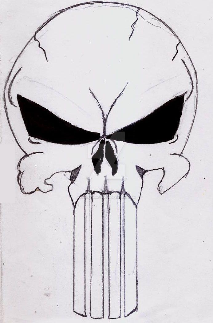 Punisher Skull by UnicronHound