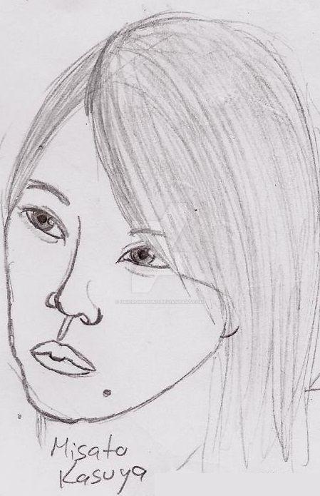 Misato Kasuya by UnicronHound