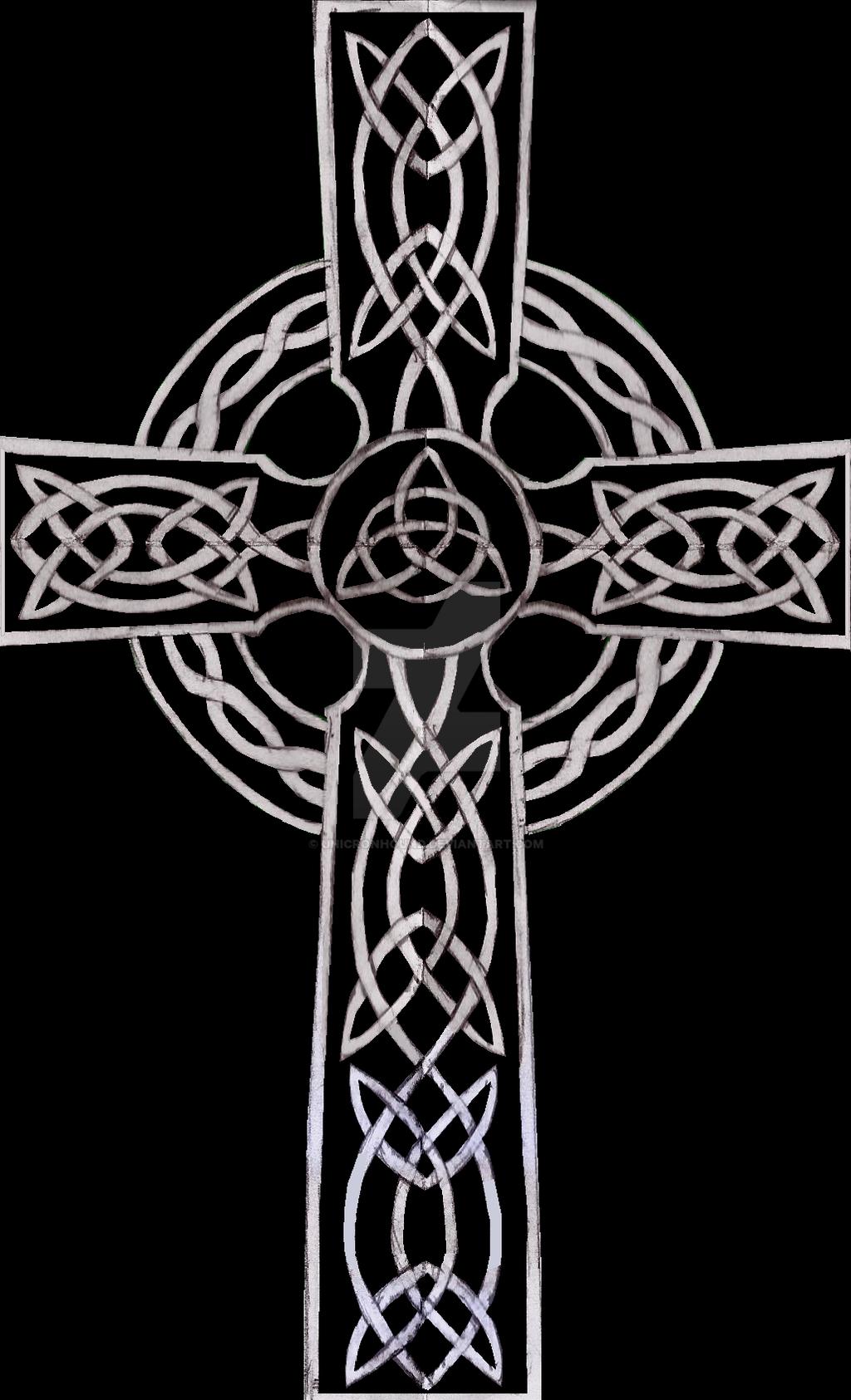 Celtic Cross Black by UnicronHound