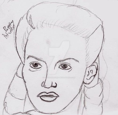 Toon Betty Hutton by UnicronHound