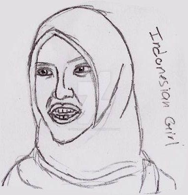 Indonesian Girl by UnicronHound