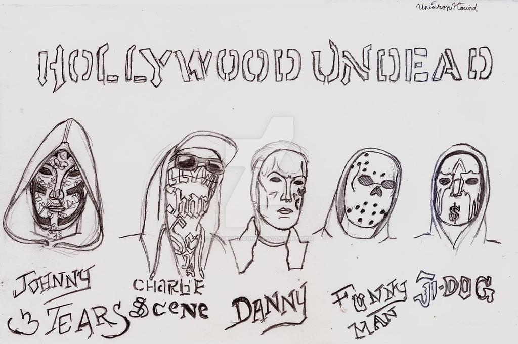 Hollywood Undead V Masks, 2017 by UnicronHound
