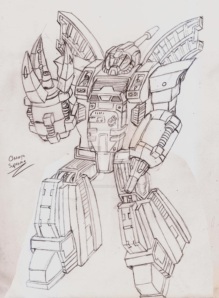 Masterpiece/Ultimate Omega Supreme by UnicronHound