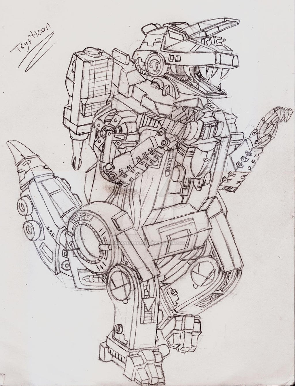 Masterpiece/Ultimate Trypticon by UnicronHound
