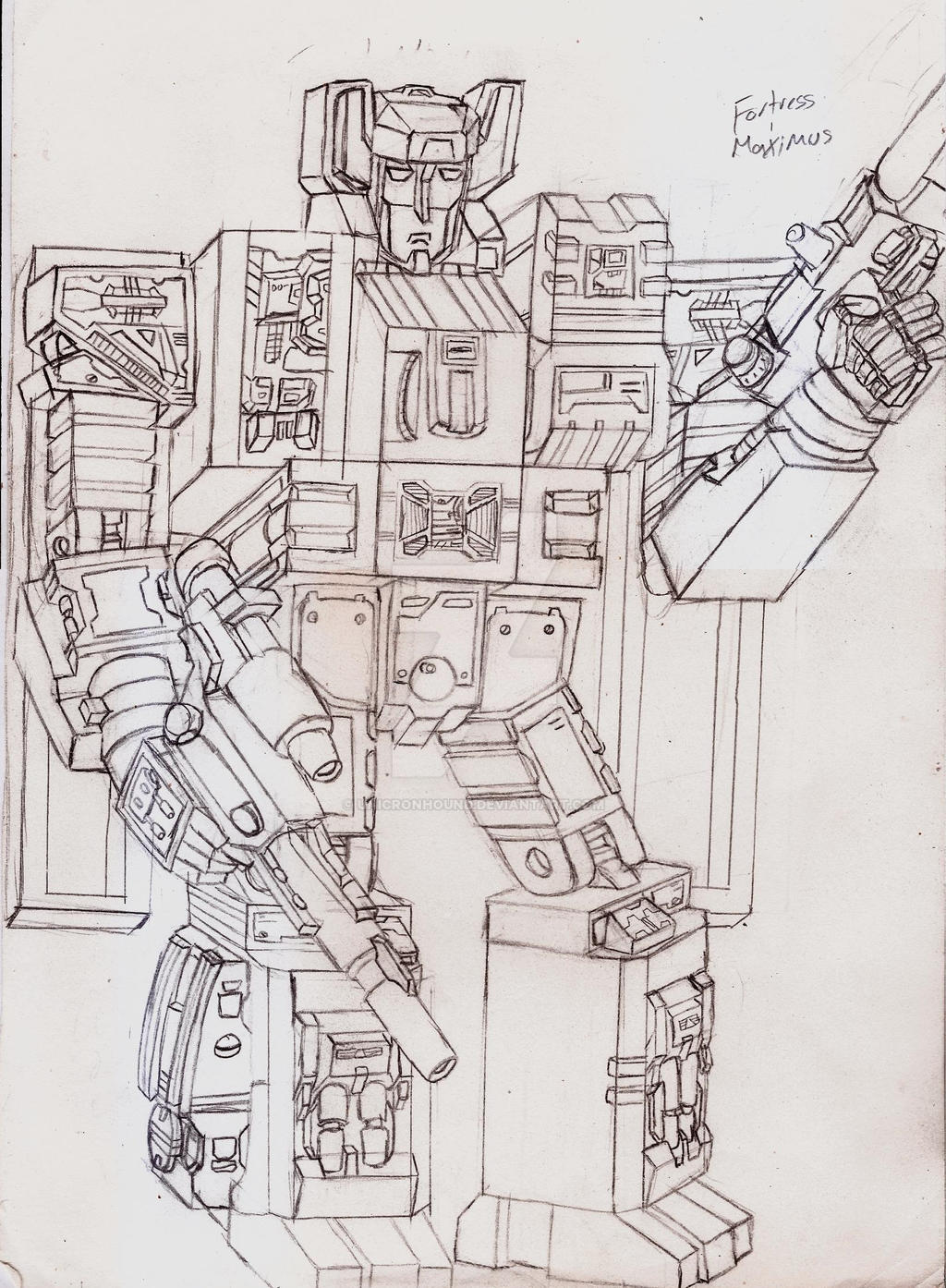 Masterpiece/Ultimate Fortress Maximus by UnicronHound