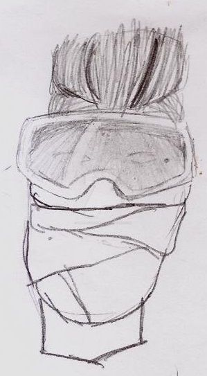Masked man by UnicronHound