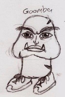 Mario Bros Adult Toon Goomba by UnicronHound