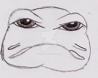 Sad Froggie by UnicronHound