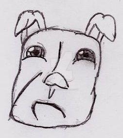 Sad Dog by UnicronHound