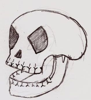 Stylized Skull by UnicronHound