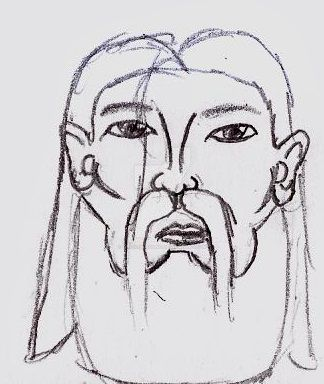 Bearded Man by UnicronHound