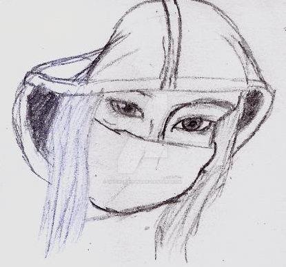 Masked Lady by UnicronHound