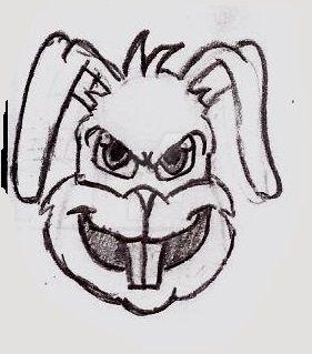 Cartoon Bunny by UnicronHound
