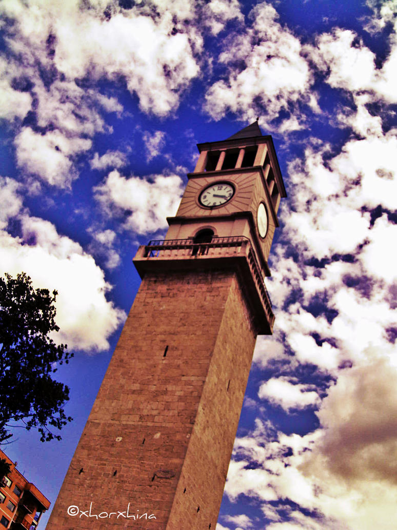 Tirana's Big clock by magical17me