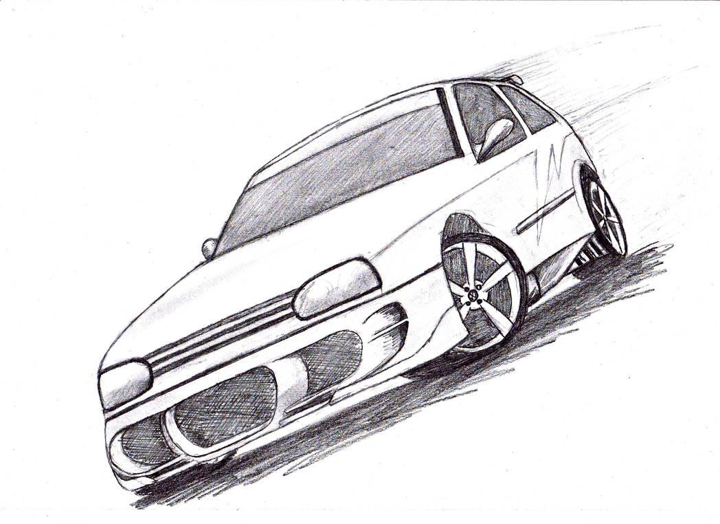 VW Golf GTI Tuning by RB-00 on DeviantArt