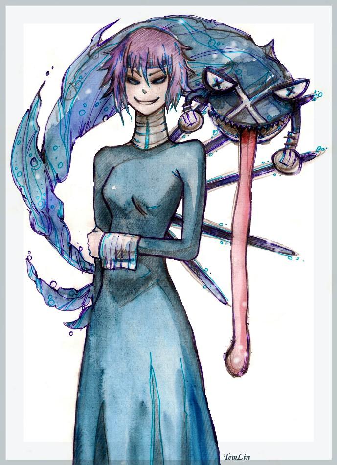 adult evil chrona soul eater by temlin on deviantart
