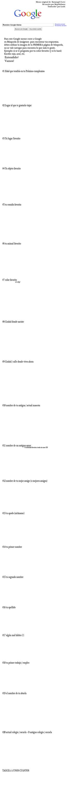 Google Meme - spanish by Lutih