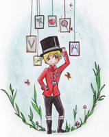 G-Dragon - Butterfly by Lutih