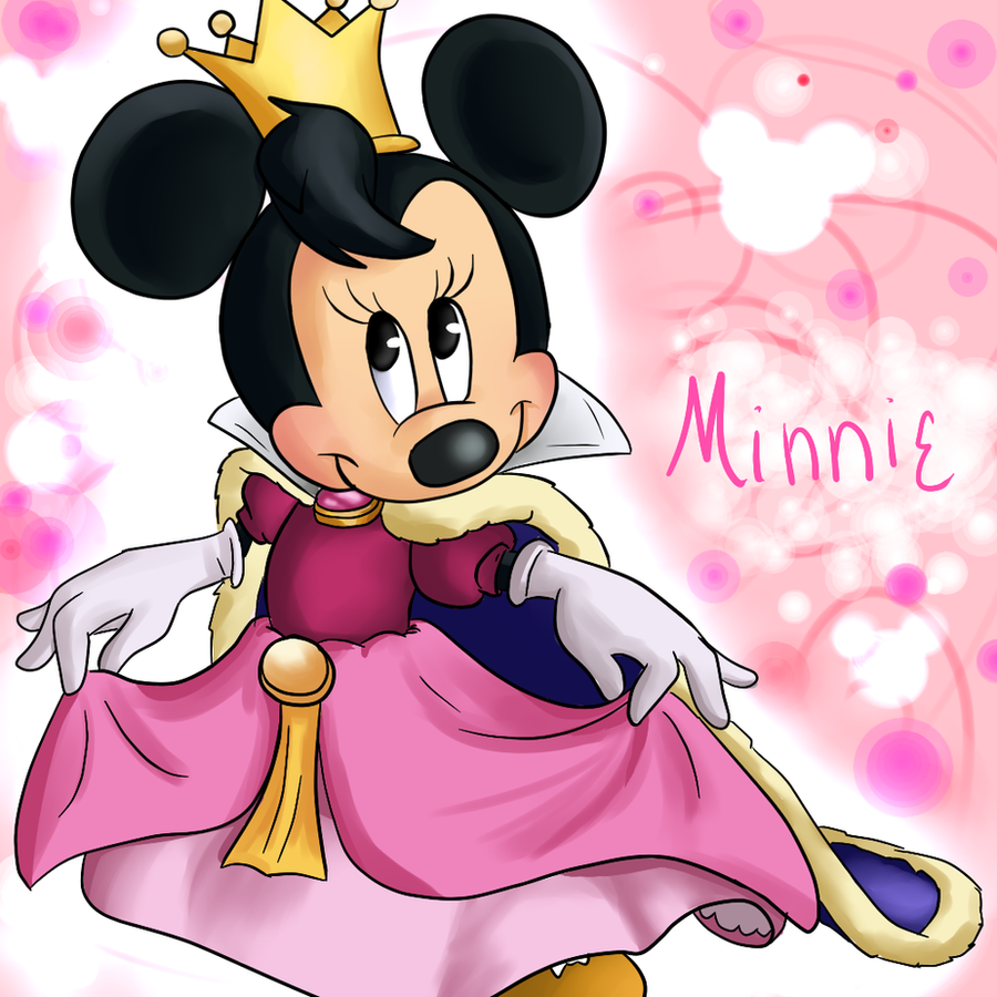 Princess minnie by annakitsun3 on deviantart - Princesse minnie ...