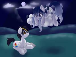 Moonlit feels by AnnaKitsun3