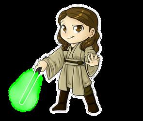Chibi Jedi by AnnaKitsun3