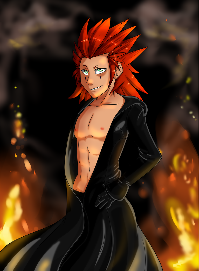Axel is the bae by Pon3Splash