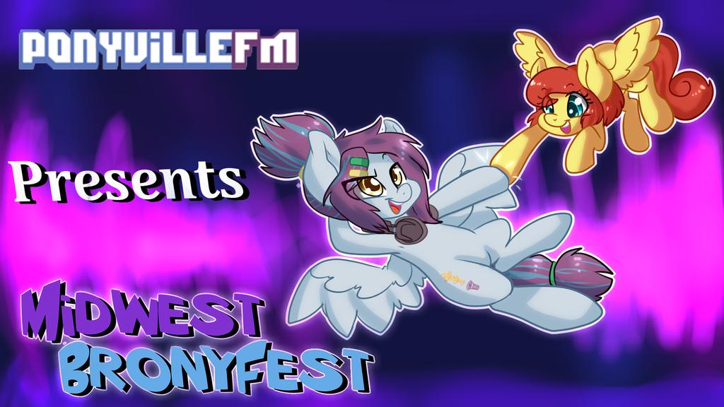PonyVilleFM and Midwest Brony Fest! by Pon3Splash
