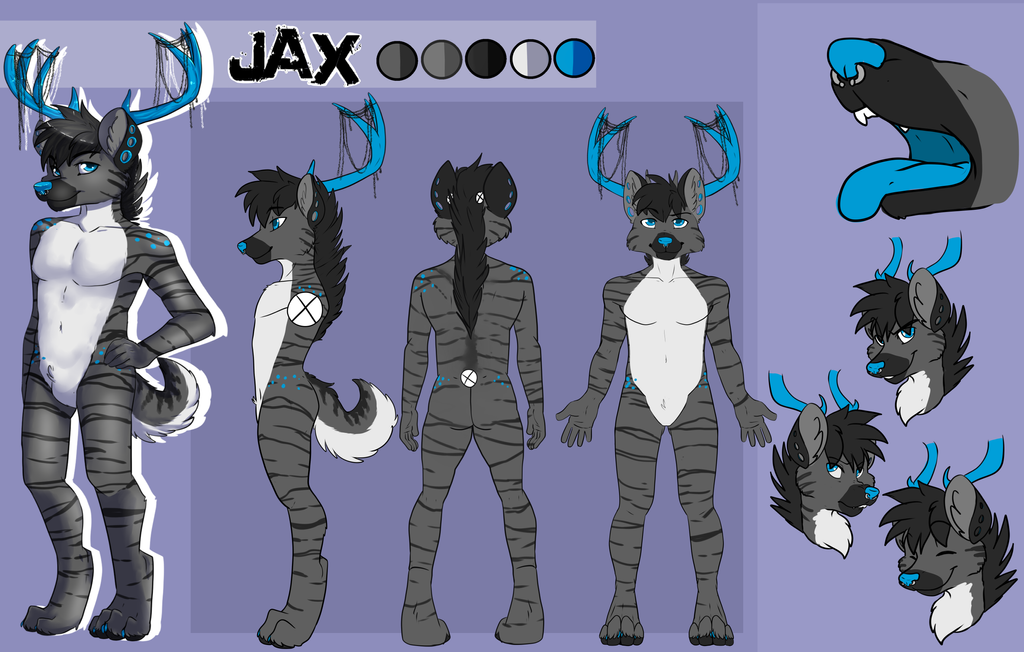 Jax Character sheet by Pon3Splash