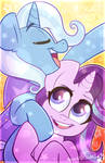 Great and powerful friends!