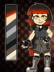 Custom KH Character by AnnaKitsun3