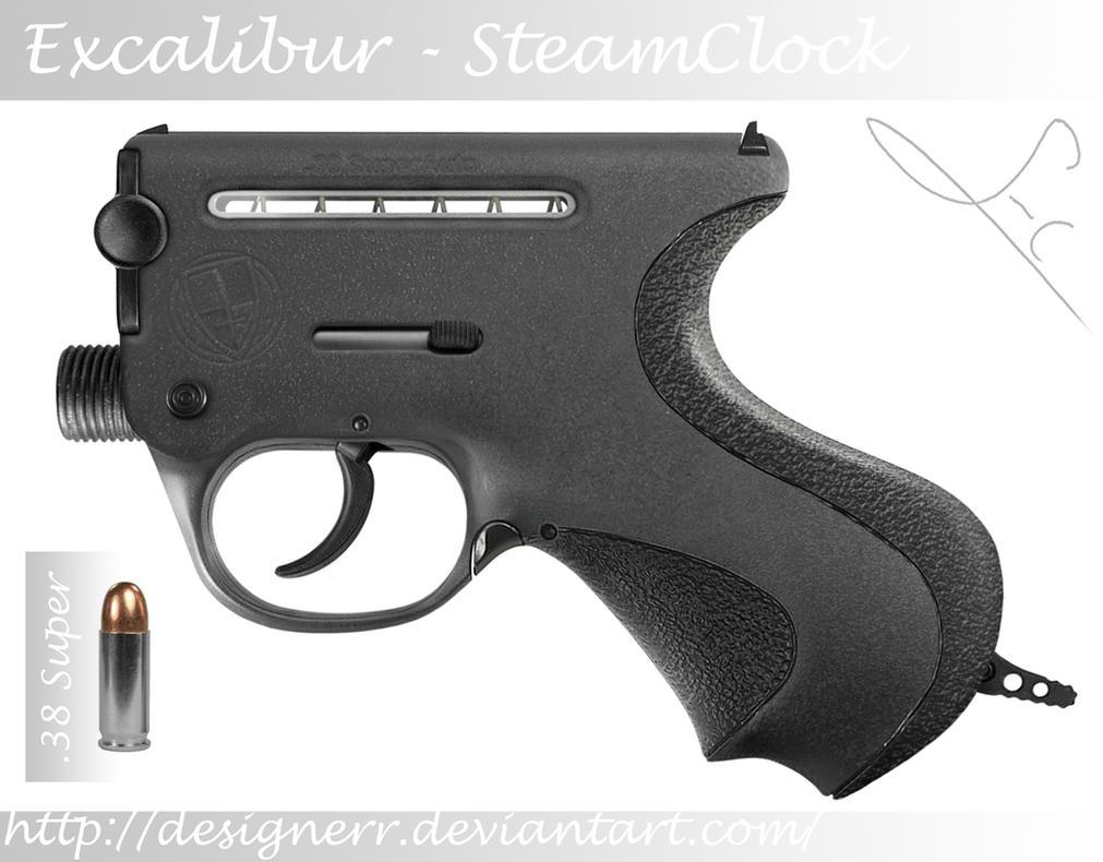 SteamClock Pistol by Designerr