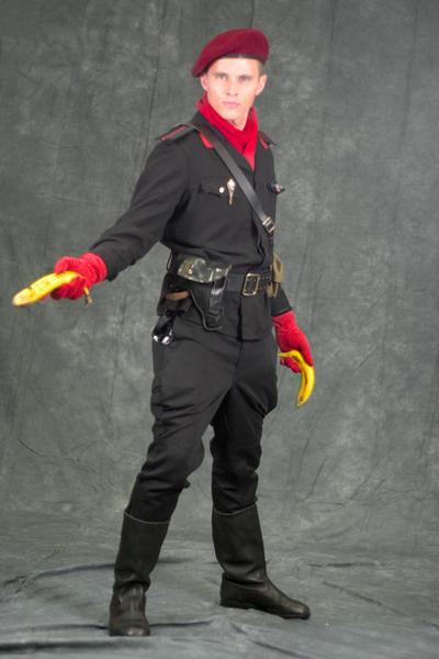 Revolver ocelot cosplay - photo#19