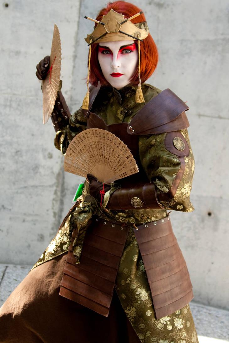 Kyoshi Warrior Suki by agentsakur9