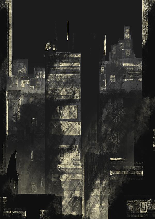 Gotham by luilouie