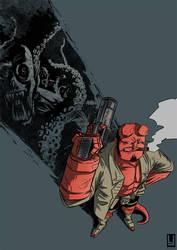 Hellboy by luilouie