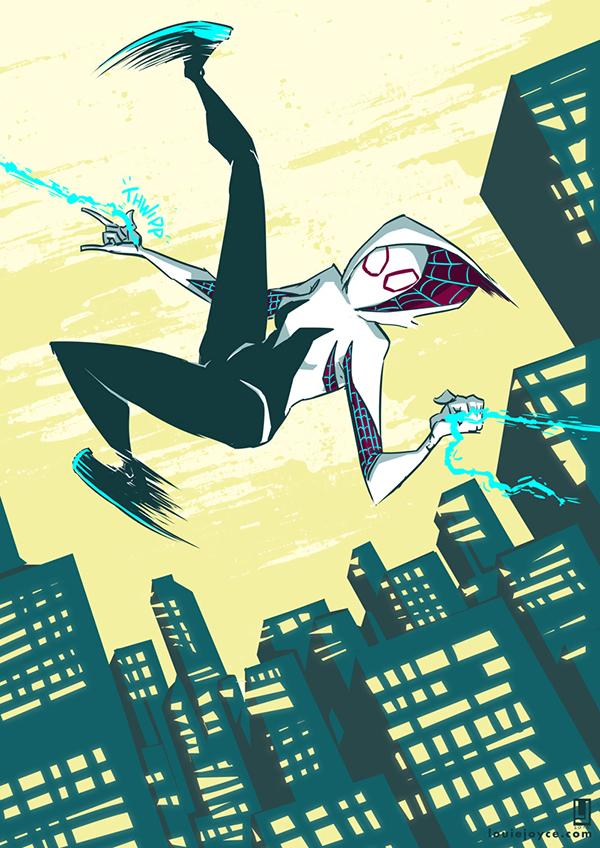 Spider Gwen by luilouie