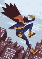 Batgirl of Burnside by luilouie