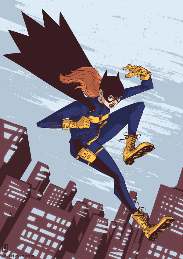 Batgirl of Burnside by luilouie