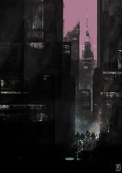 TMNT Cityscape by luilouie