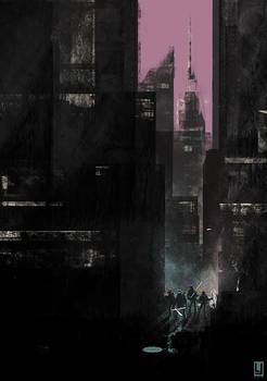 TMNT Cityscape