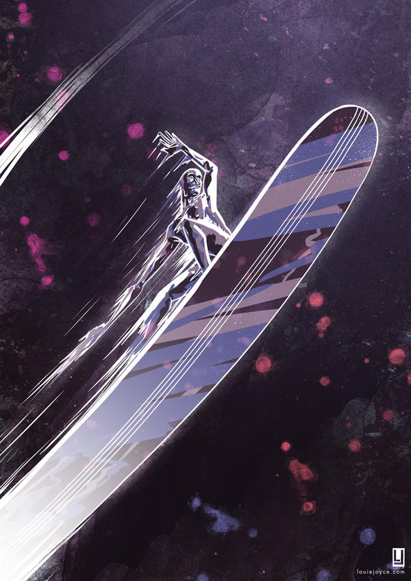 Silver Surfer by luilouie